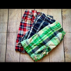 Boys Size 4T Shorts Bundle of 3